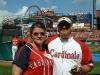 Jen & Jamon @ Cardinals game 2007