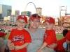 Jen, Taylor & Jordan @ Cardinals game 2007