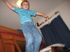 Taylor jumping off bed 2007
